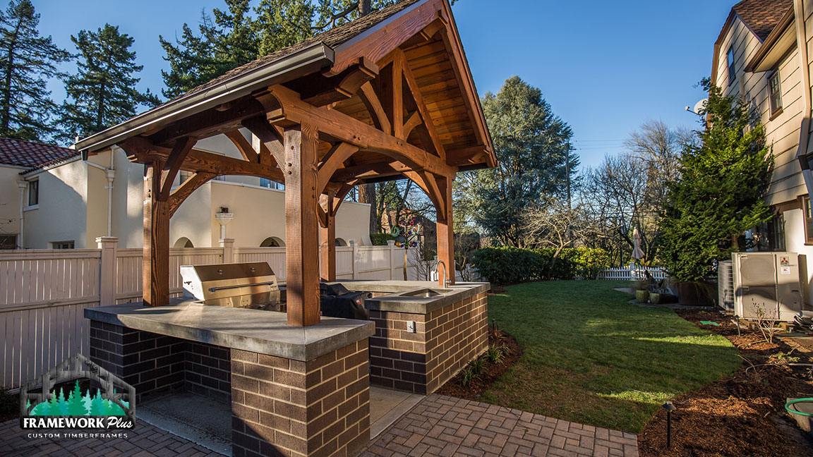 Outdoor Fireplace Portland Oregon